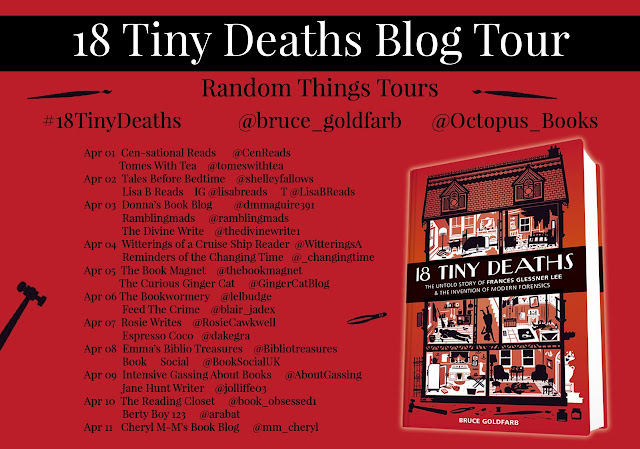 18 Tiny Deaths by blog tour