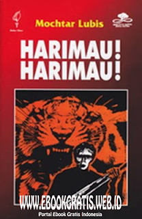 Ebook Novel Harimau-Harimau - Mochtar Lubis