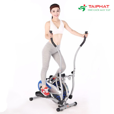 Đạp xe giảm cân với xe đạp tập Orbitrack.