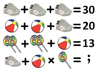 γρίφος σύστημα εξισώσεων