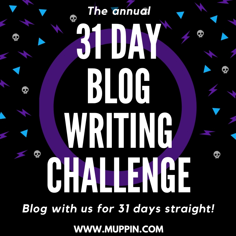 31 Day Blog Writing Challenge
