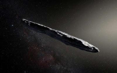 omuamua, objek angkasa luar yang berkelana dari luar semesta kita