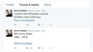 Hacker Berhasil Bobol Akun Twitter Co-Founder Wikipedia