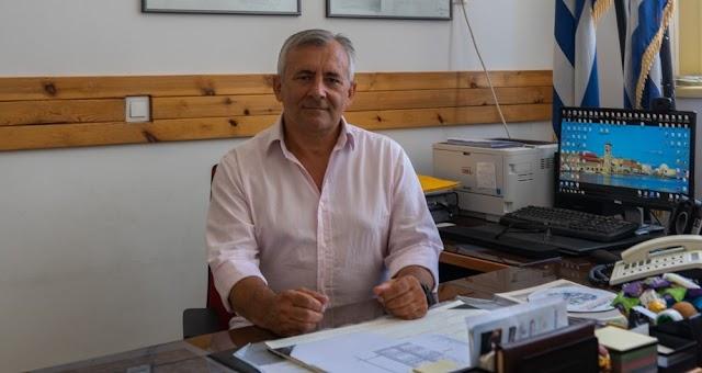 Β.Ζήκας: «Εύχομαι η συμμετοχή να είναι μεγάλη στο φετινό Run Greece Ρόδος»