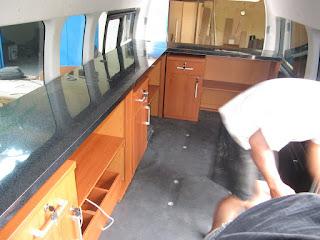 Furniture Untuk Mobil Caravan Pesawat kapal (furniture semarang)