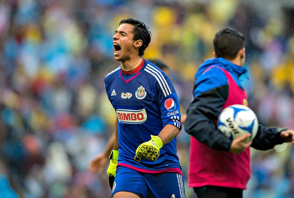 Antonio Rodríguez, portero de Chivas.