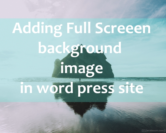 how to add image background in css