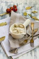 Gulasz w sosie chrzanowo-koperkowym