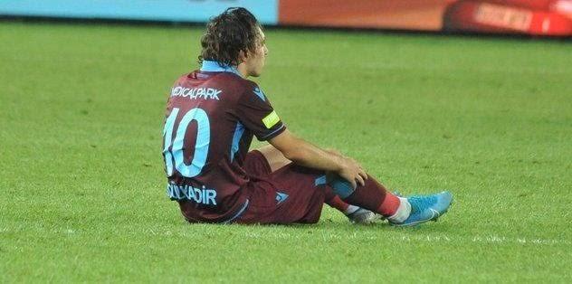 Trabzonspor'bir kötü haberde Abdülkadir'den
