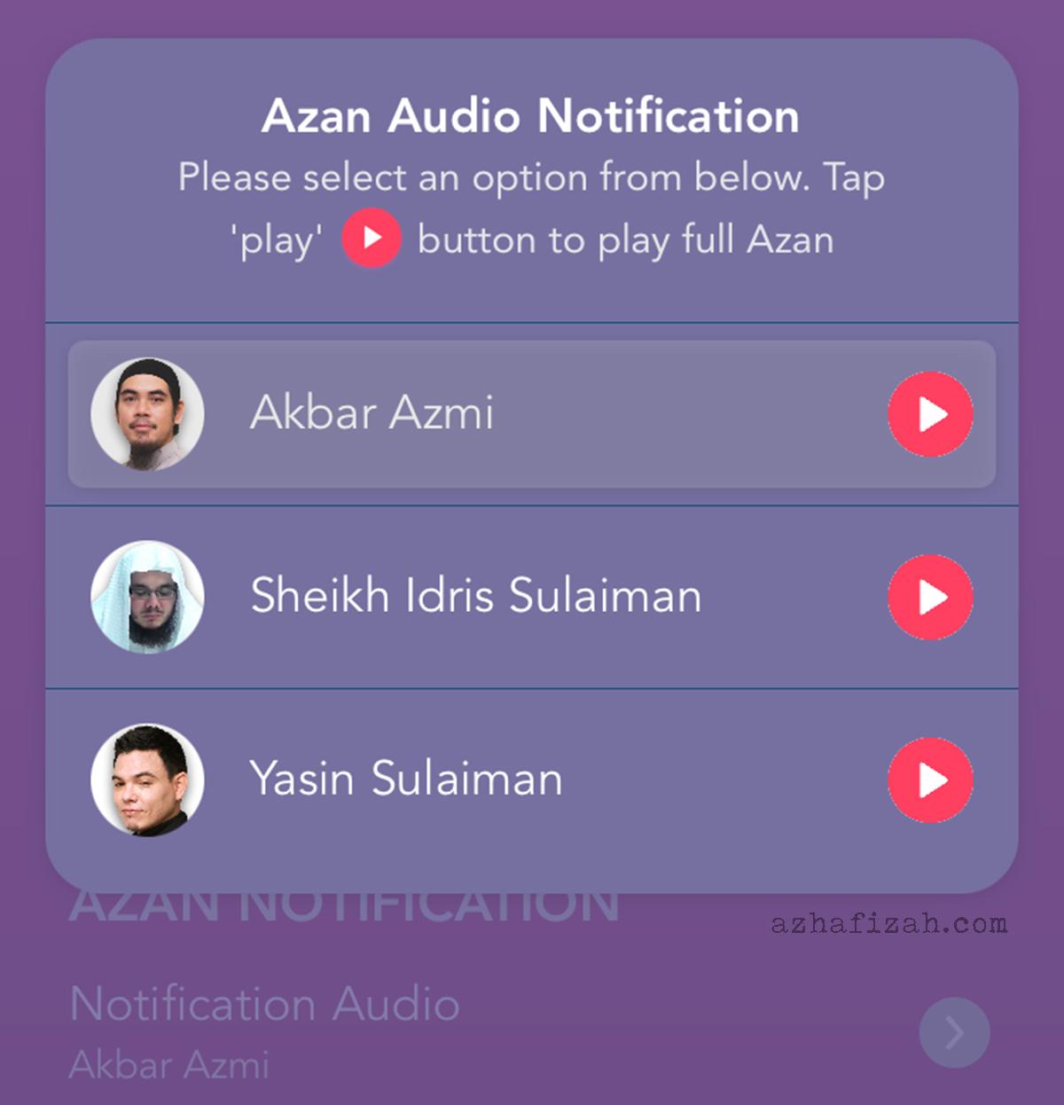 The Noor App- 3 Mod Azan