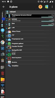 Download X-Plore Donated File Manager Mirip Komputer di Android