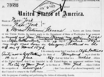a3Genealogy: Passports Applications for Genealogy