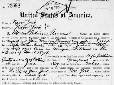 a3Genealogy: Passports Applications for Genealogy