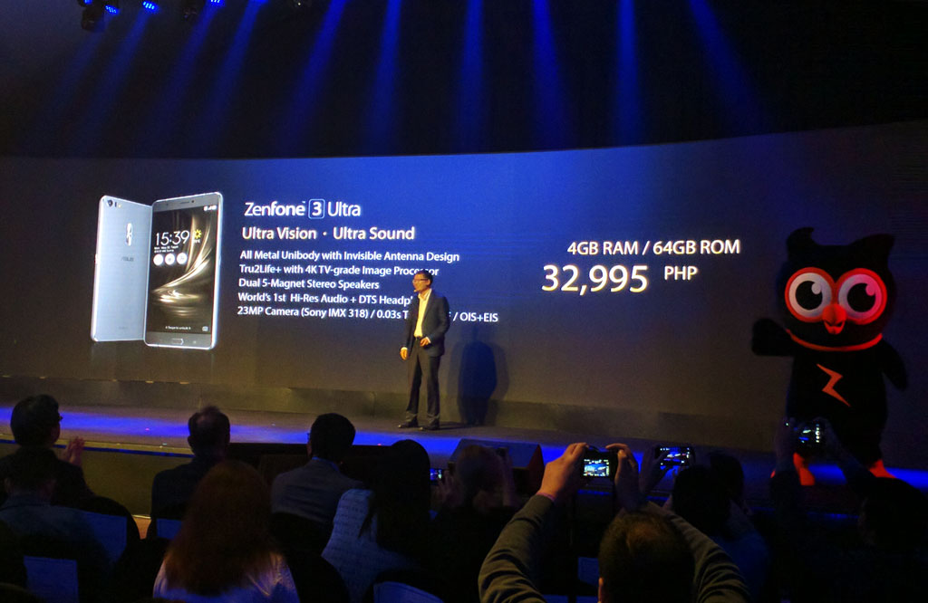 ASUS Zenfone 3 Ultra (ZU680KL) Specifications