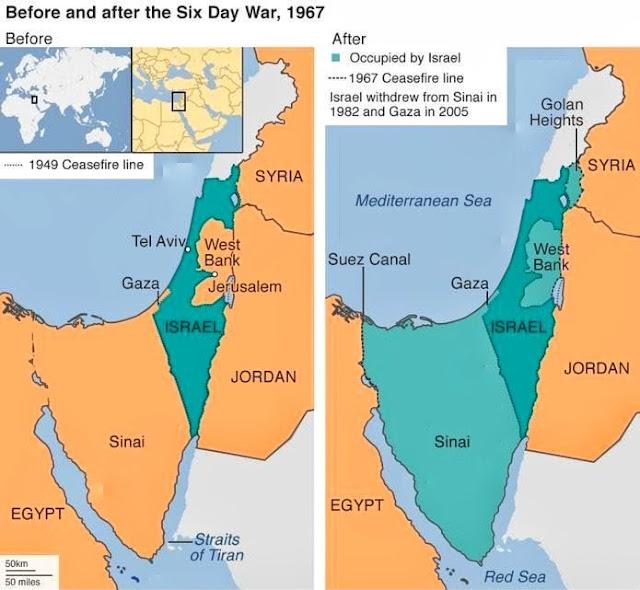 දින 6 ක් තුළ අරාබි රටවල් තුනකට එරෙහිව ඊශ්රායලය දැවැන්ත ජයග්රහණයක් ලබා ගත් අයුරු (Israel's Greatest Victory) - Your Choice Way