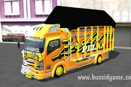 Mod Truck Canter NMR71 Full Bodykit Santoso By Aldovadewa