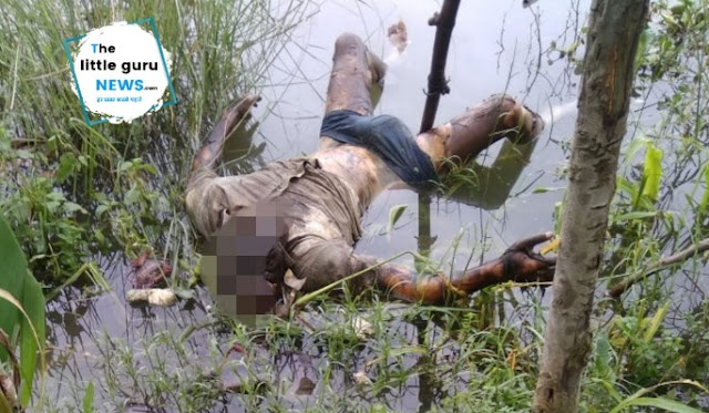 Dead body found in sumauti river Kesariya
