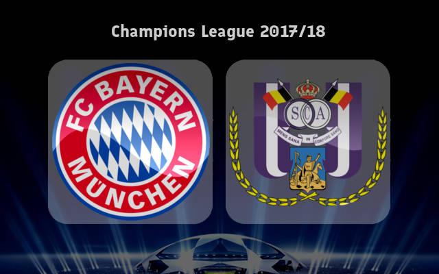 Bayern Munich vs Anderlecht Full Match & Highlights 12 September 2017