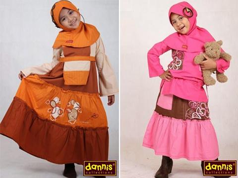 model baju muslim anak dannis