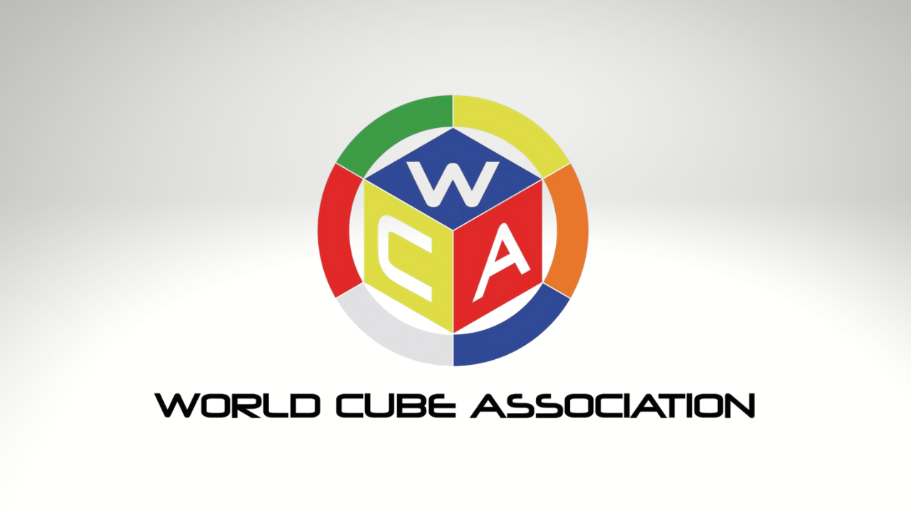 Logo Resmi World Cube Association Organisasi Rubik's Cube Speedcubing