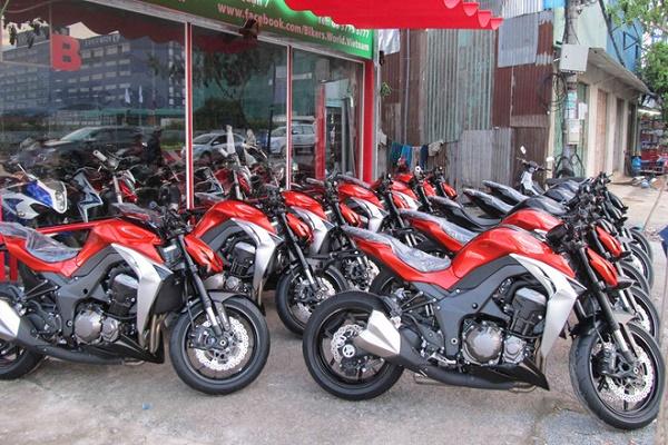 Hướng dẫn thủ tục nhập khẩu xe moto phân khối lớn từ 125cc về Việt nam