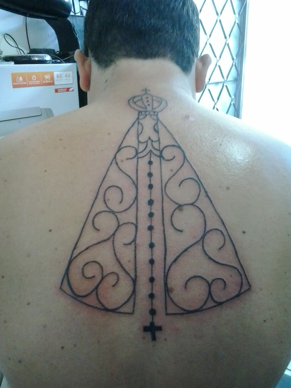 Cristiano Tattoo Tatuagem De Nossa Senhora Aparecida