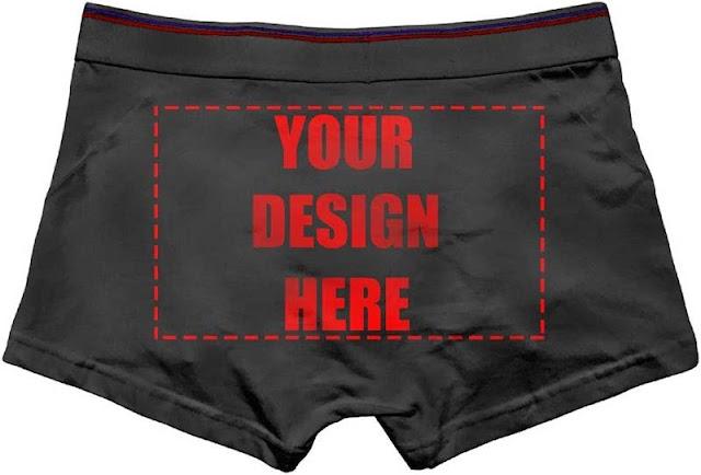 Custom Personalized Underwear
