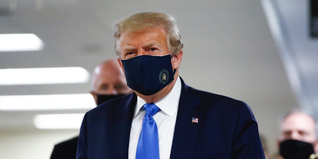 Trump Wearing Mask