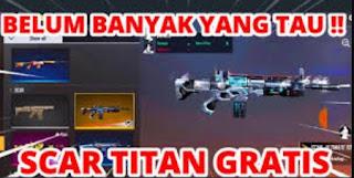 Free Fire Event Scar Titan Gratis