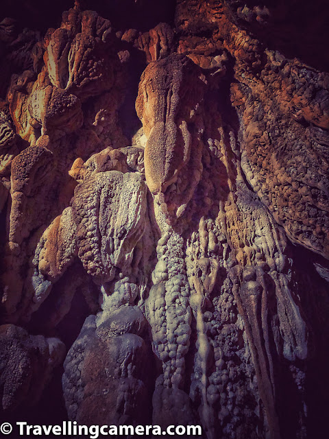 There are places inside the Mawsmai cave where visitors need to bend and squeeze themselves out. While getting inside the cave, one can see constant dripping of water from the roof of the cave and the innumerable forms of stalactites and stalagmites. Further, visitor can also observe how the roof and the floor of the cave are joined together to form the iconic pillars.