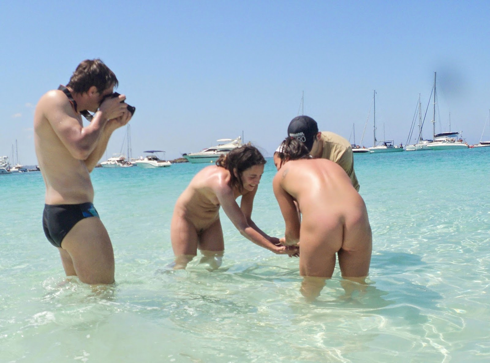 Nudism - Photo - Hq  Formentera Nude Beach-9478
