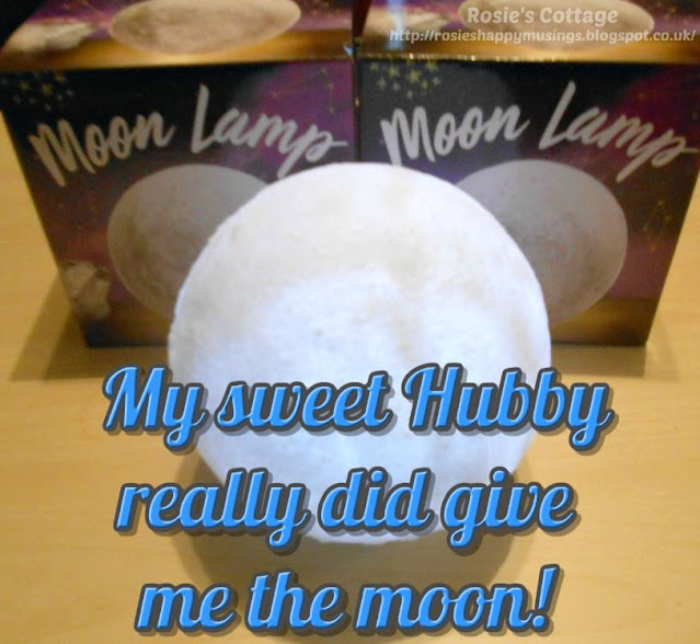 My Sweet Hubby Really Did Bring Me The Moon!