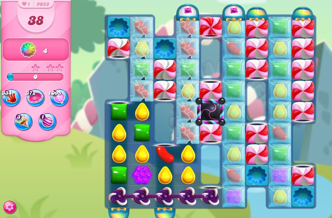 Candy Crush Saga level 9053