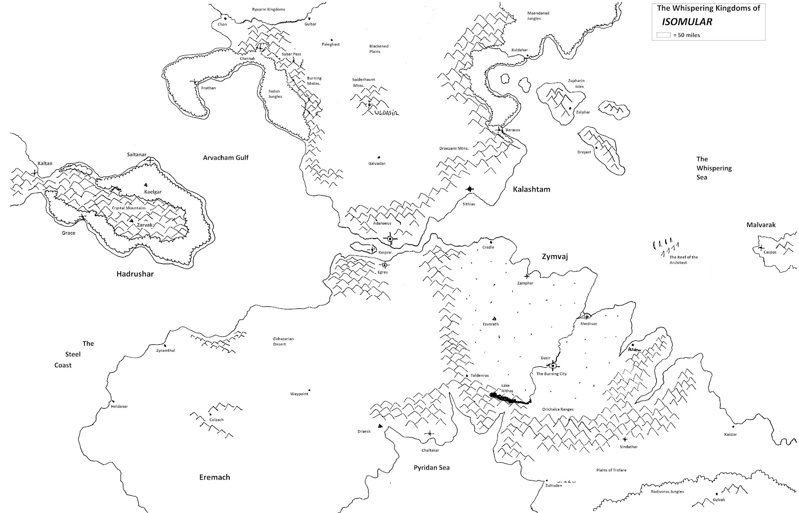 Realms of Chirak: March 2012