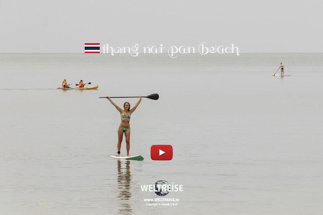 Stand Up Paddling | Koh Phangan | THAILAND | www.WELTREISE.tv #198