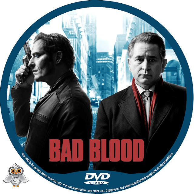 Bad Blood DVD Label