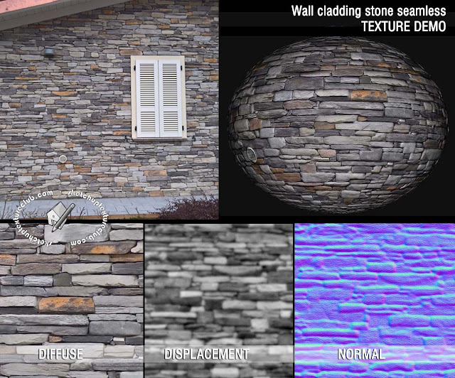 building wall cladding blocks stone texture seamless 20501