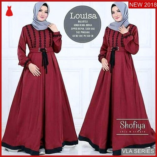 VLA015L55 Model Dress Loisa Bd Murah BMGShop