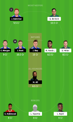 ENG vs SA Dream11 team prediction