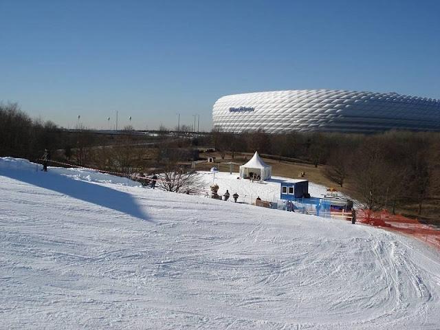 Skiarena em Munique
