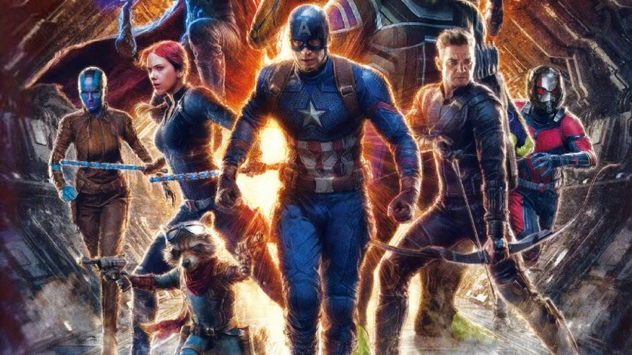 Avengers Endgame Captain America 4k Wallpaper 111
