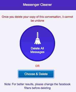 How To Delete all Facebook Messages Fastest and Easily