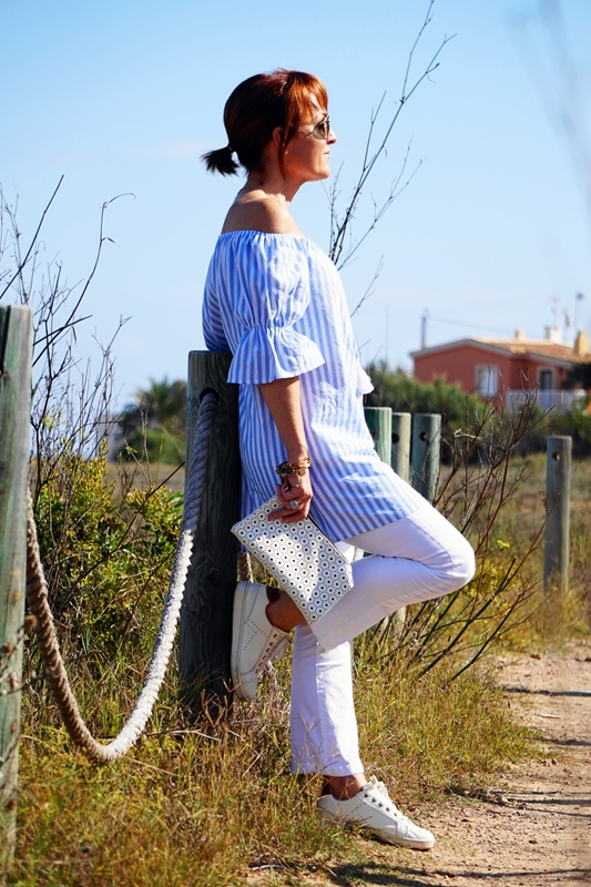 Almamodaaldia - Vestido a Rayas