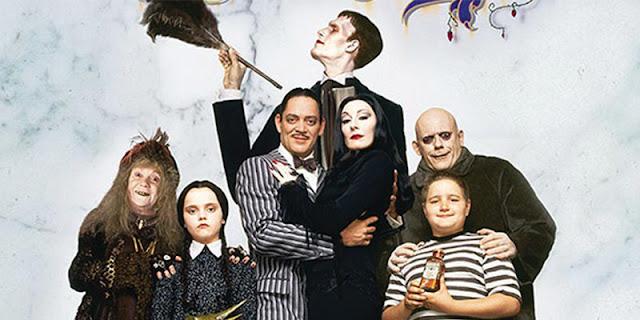 películas de la familia addams en los noventa