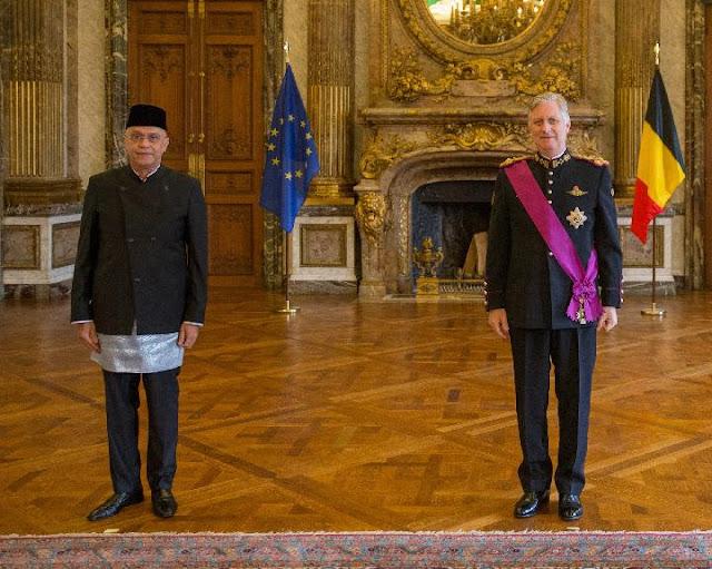 Surat Kepercayaan Diserahkan Oleh Dubes RI Kepada Raja Belgia, Minyak Sawit