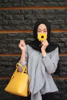 Baju atasan muslim casual