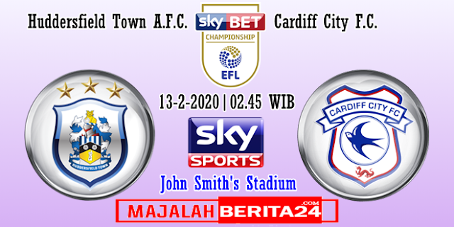 Prediksi Huddersfield Town vs Cardiff City