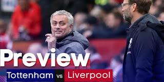 Streaming Tottenham Liverpool