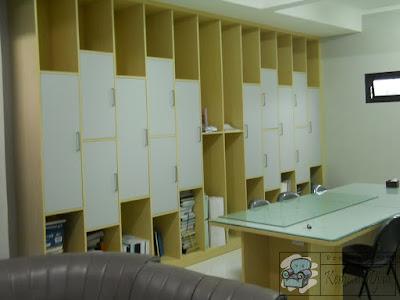 Lemari Arsip Kantor Tanam Dinding