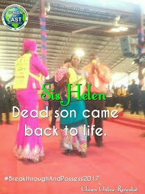 Photos of Dead Child Who Resurrected after Prayers at The Lord's Chosen Charismatic Ministries